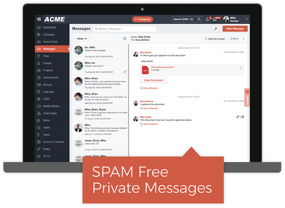Private Messages