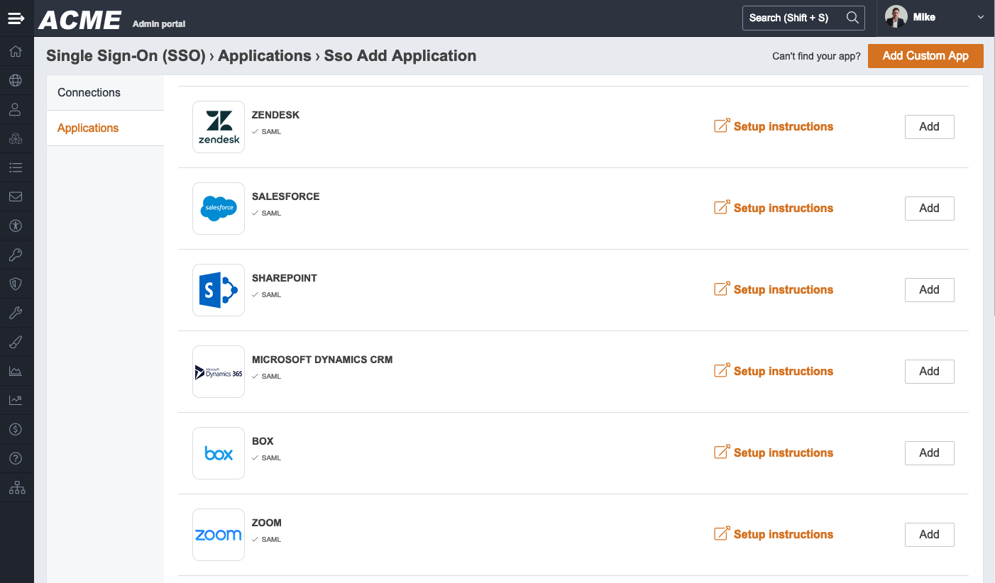 Use MangoApps as Your SSO Provider
