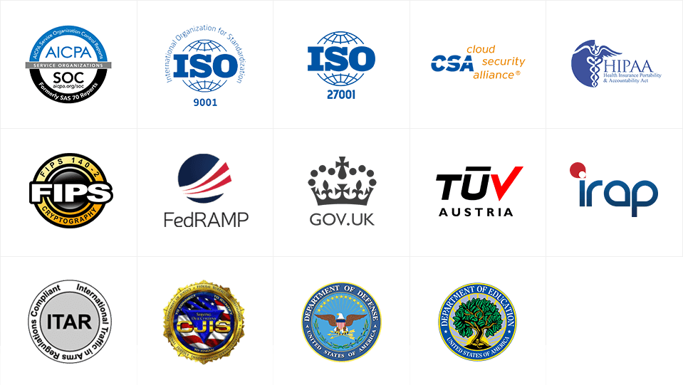 Security & Certifications